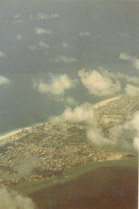 Anflug auf Florida